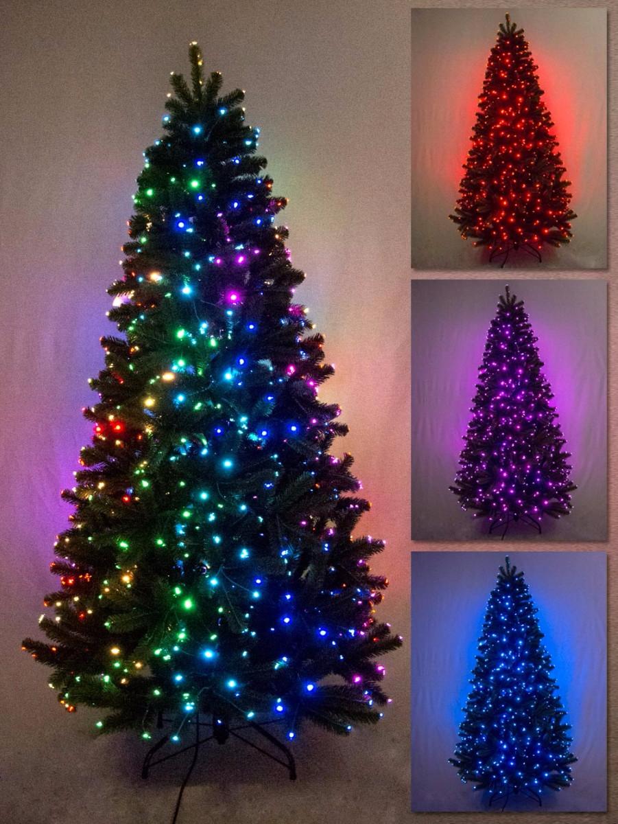 multi colour function dancing light fibre optic tree - Dancing Pictures To Colour