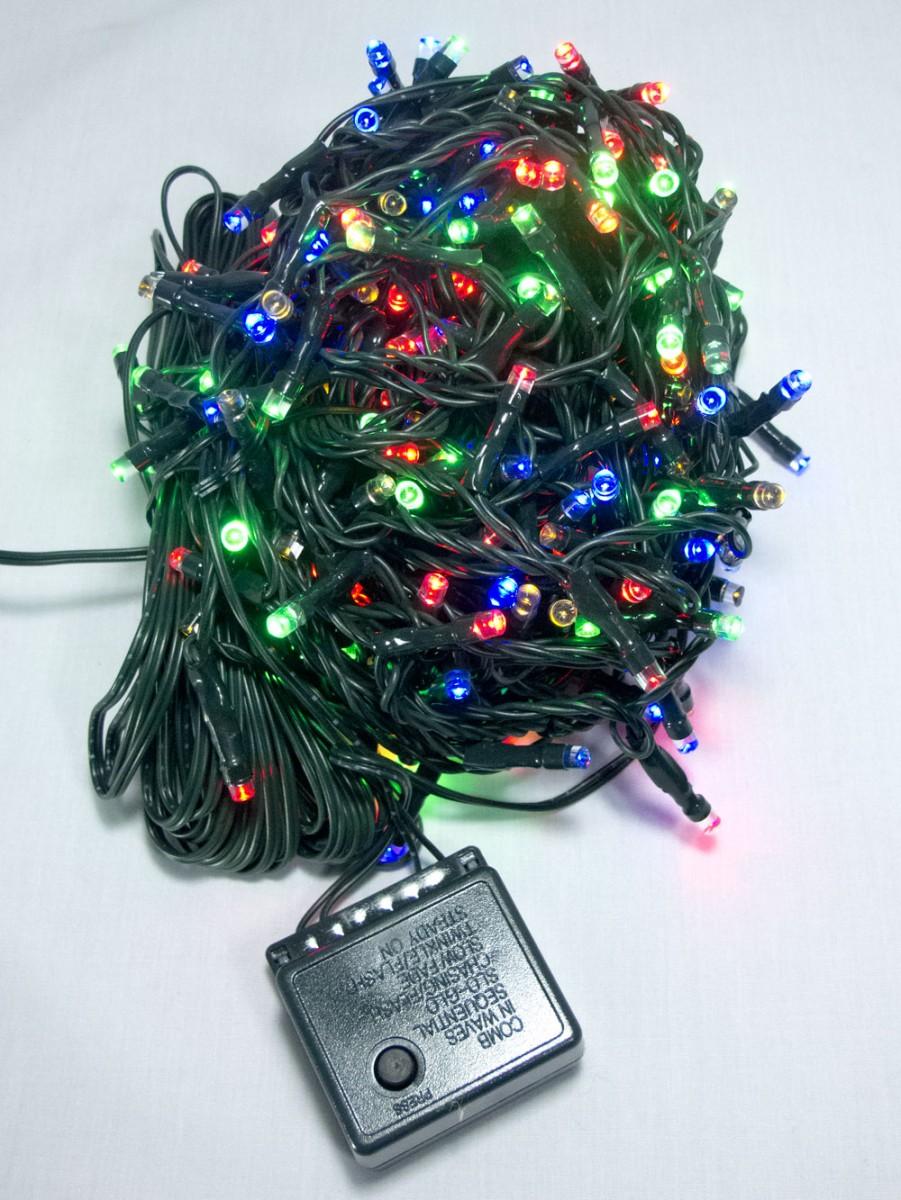 300 Multi Colour Led String Light 15m Christmas Lights