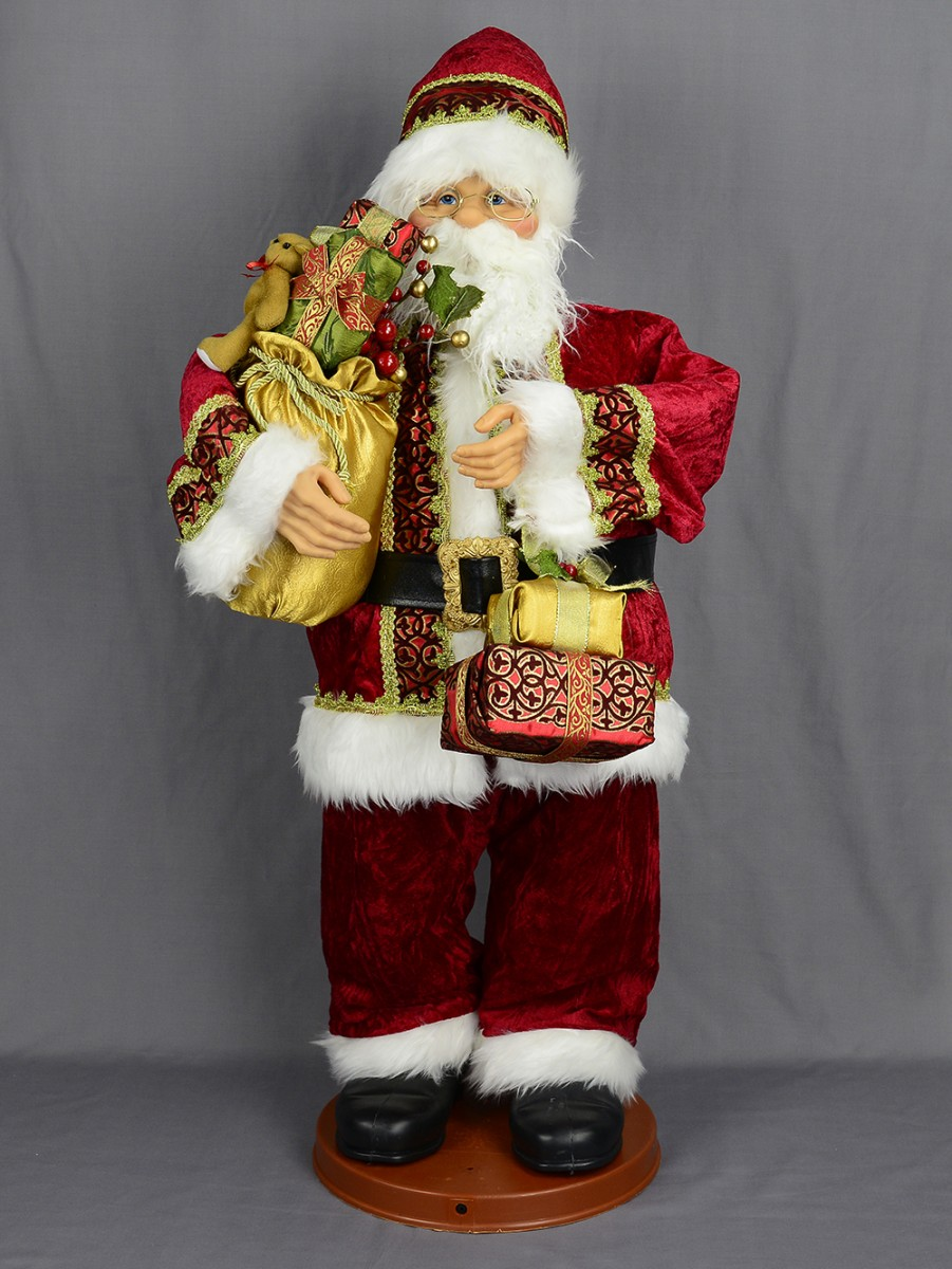 christmas in germany wooden photo seiffen europe claus decoration decor decorations photos santa