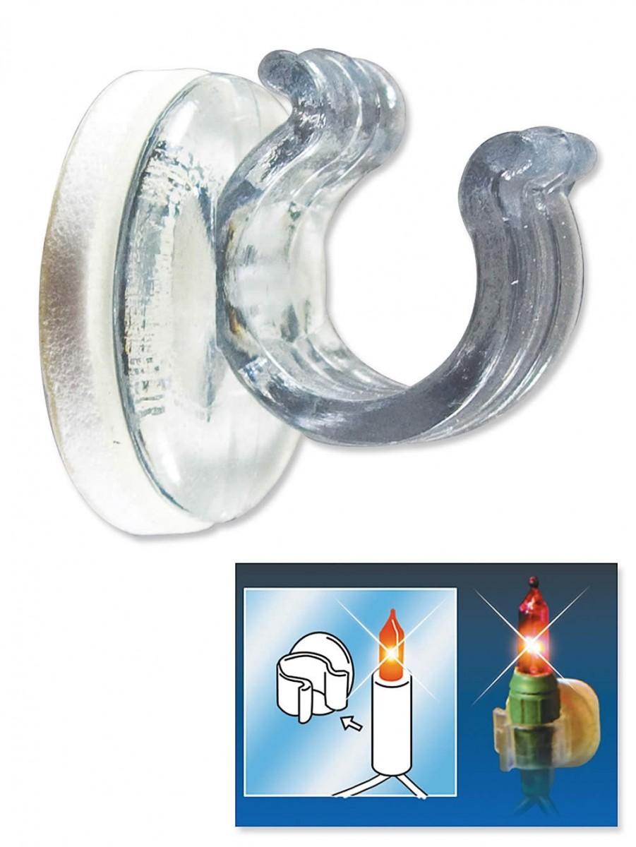 Mini Light Amp Decor Adhesive Clip Accessory 52 Per Pack