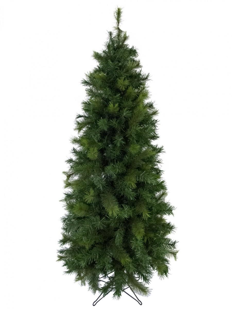 Slimline White Christmas Tree