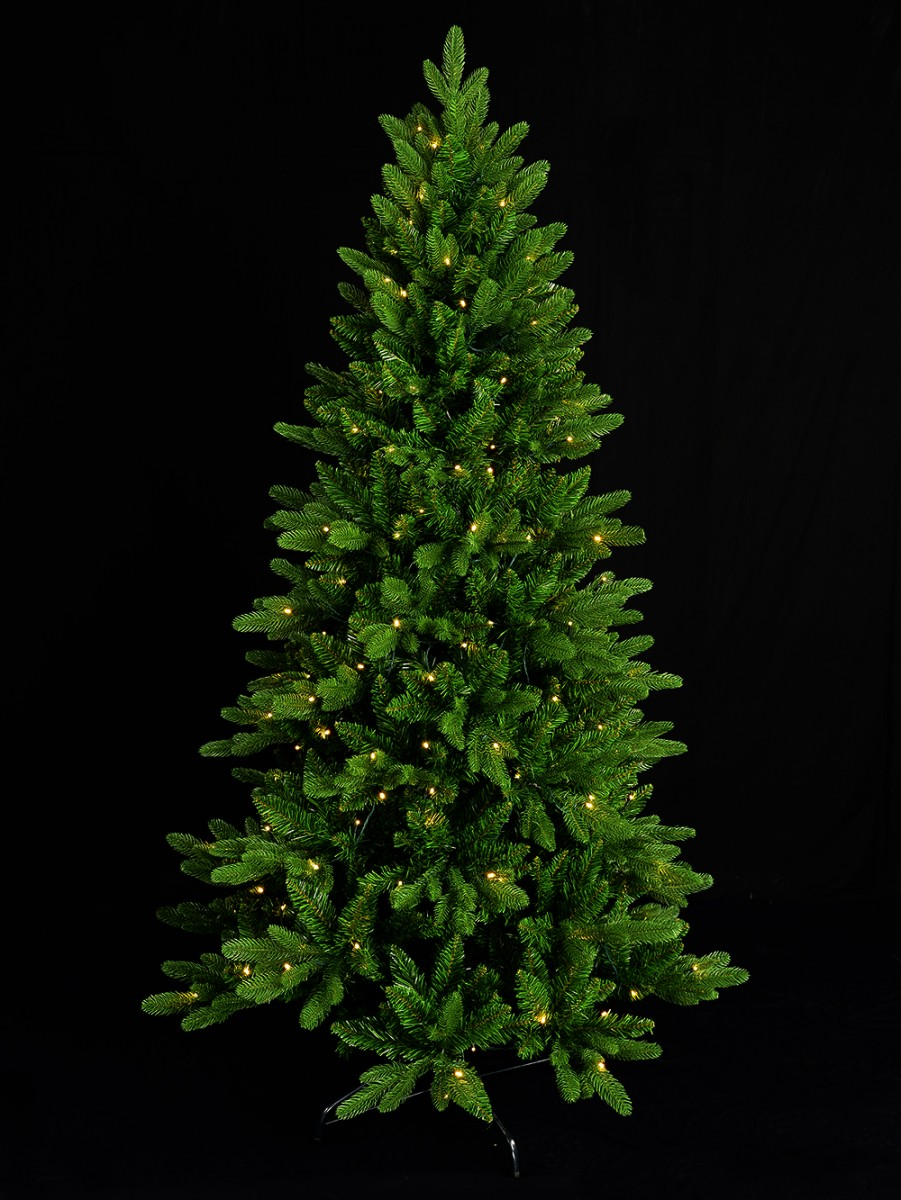 Pre,lit Aspen Pine Christmas Tree , 2.3m