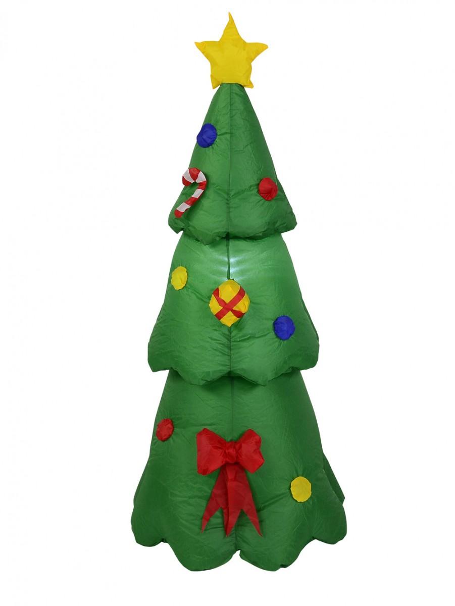 Christmas Tree Inflatables.Christmas Tree Standing Inflatable Illuminated 1 3m