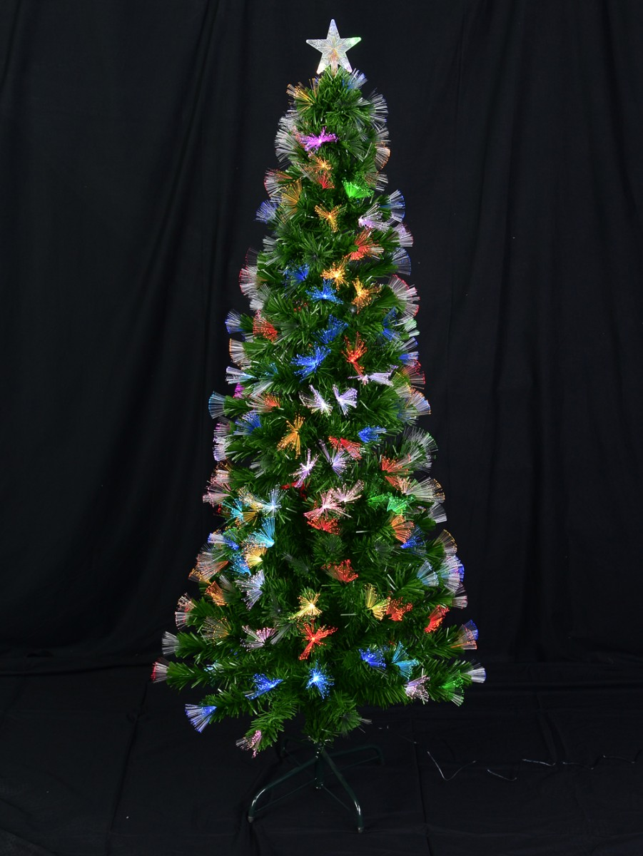 Fiber Optic Christmas Tree With Colour Changing Led Star