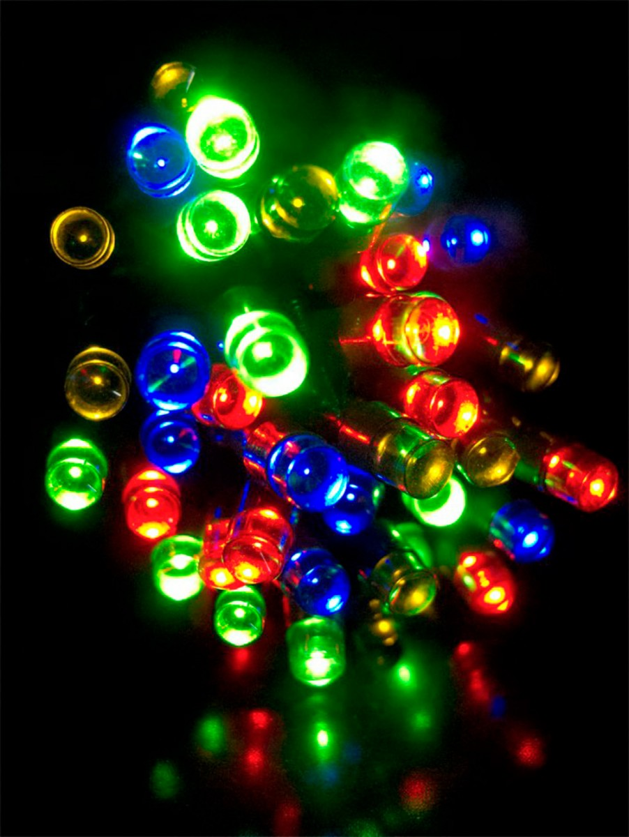 1000 Multi Colour Led String Light 50m Christmas Lights The