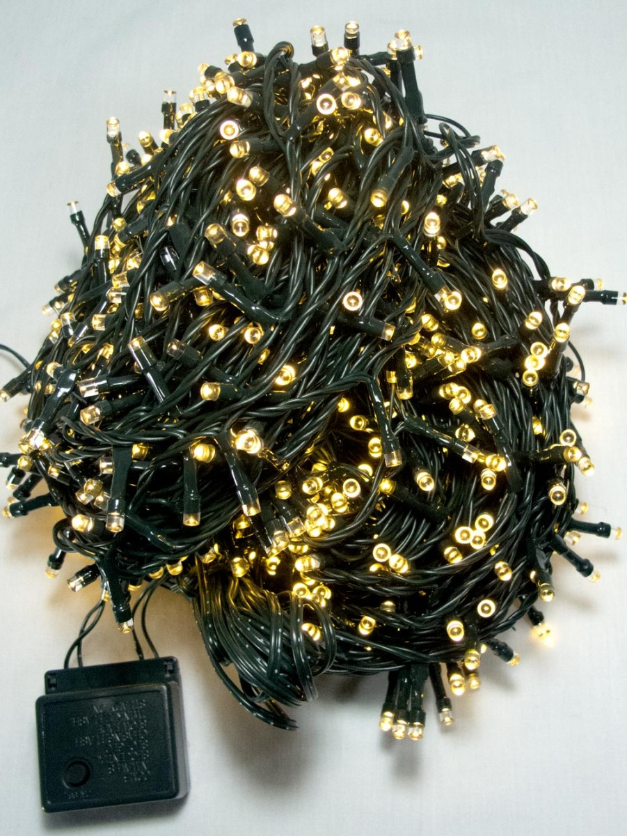 1000 Warm White Led String Light 50m Christmas Lights