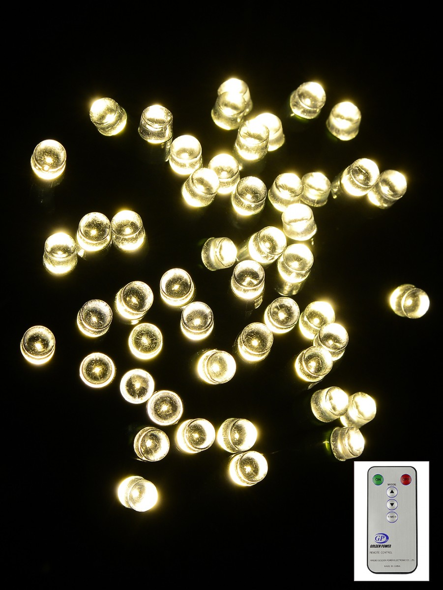 Led String Lights Dimmable : 100 Dimmable Warm White Led String Light With Remote - 10m Christmas Lights The Christmas ...