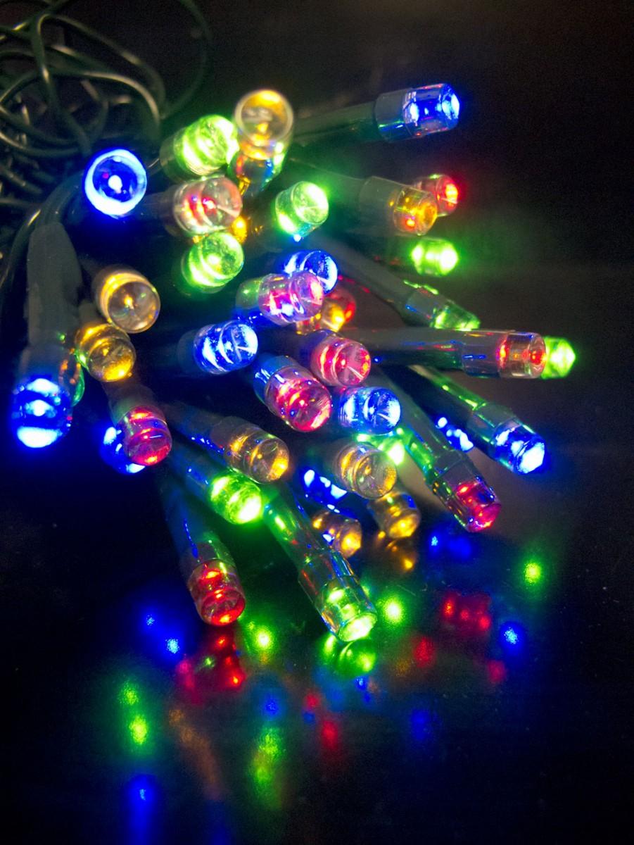 Orange Led Christmas Lights