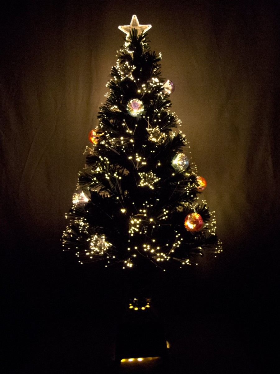 Led Fibre Optic Christmas Tree