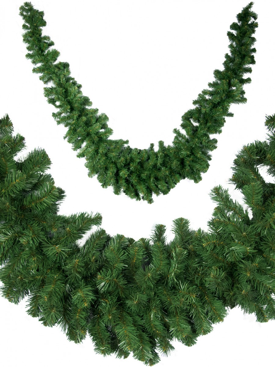 Thick Balsam Pine Swag Garland - 3m | Garlands, Wreaths & Tinsel ...