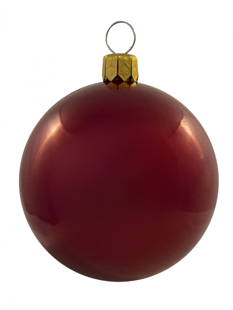 Red, White & Silver Baubles - 12 X 60mm | Christmas ...