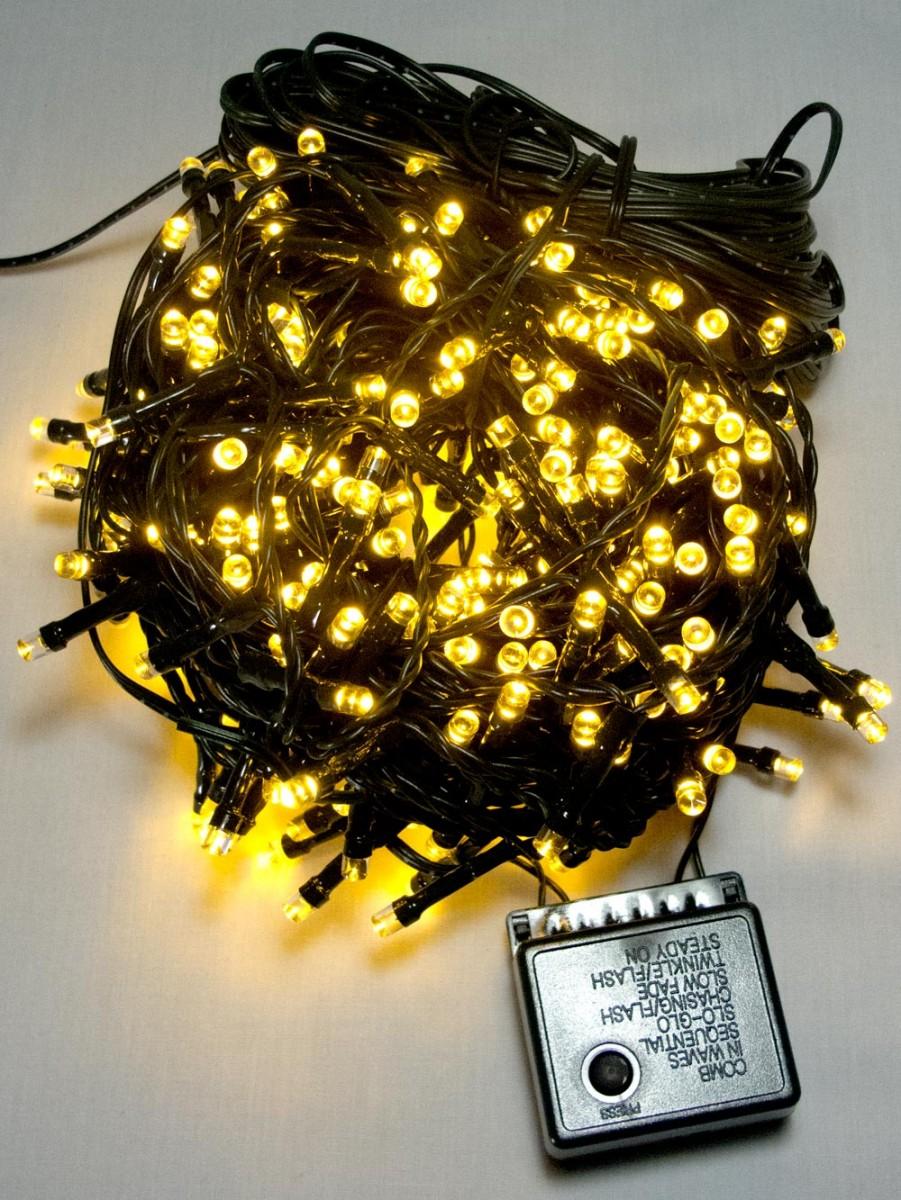 300 Warm White Led String Light 15m Christmas Lights