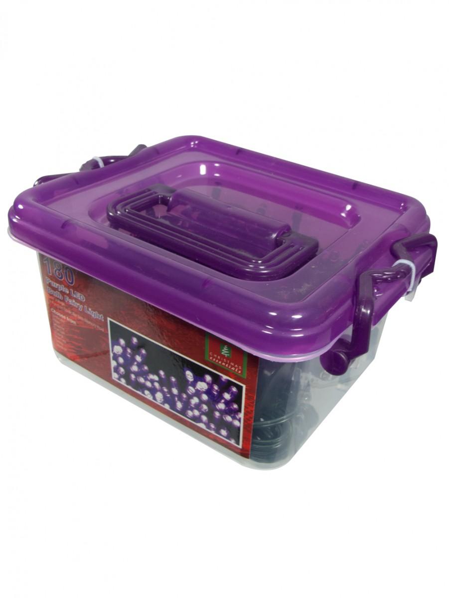 180 Purple Super Bright Led String Light 9m Christmas