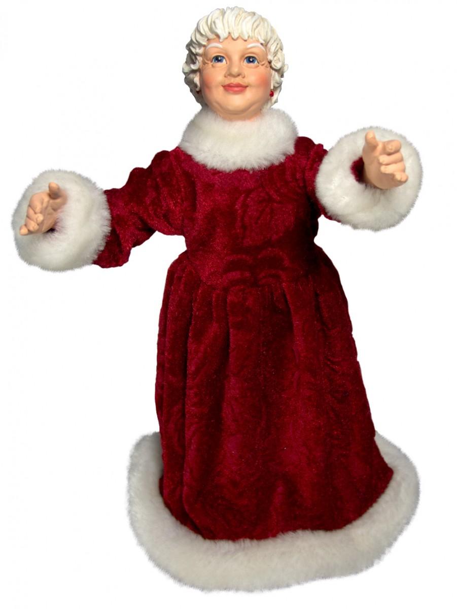 Decorative Open Arms Mrs Claus - 26cm | Ornaments | The ...