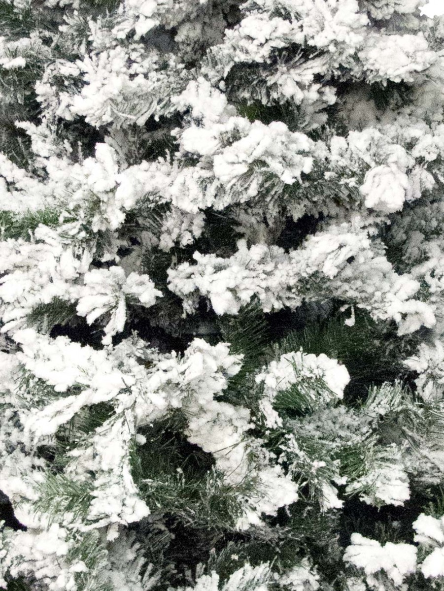 Snow Frosted Christmas Tree