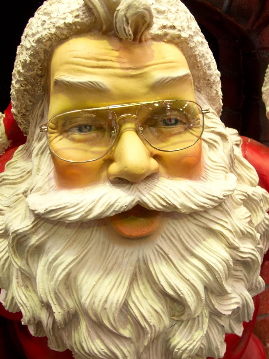 Resin Santa In Fireplace Decor 1 5m Large Decor
