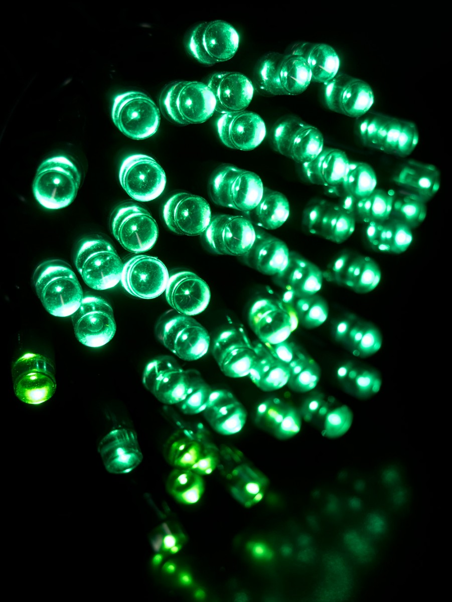80 green super bright led string light 8m christmas. Black Bedroom Furniture Sets. Home Design Ideas